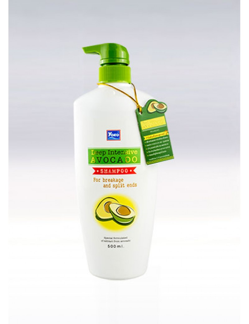 YOKO-584 Deep Intensive Avocado Shampoo(Pump) 16.7 oz / 500ml