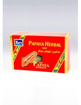 YOKO-025 PAPAYA  HERBAL SOAP(Red Box)  4.5 oz / 135gr