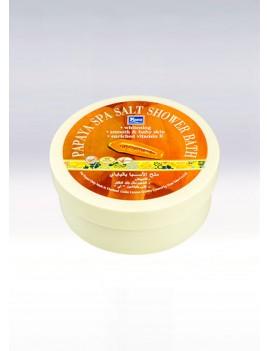 YOKO-044 Papaya SPA Salt Shower Bath (Jar) 8.33 oz / 250gr