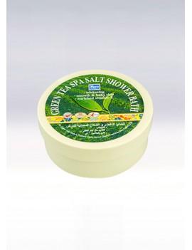 YOKO-402 Green Tea SPA Salt Shower Bath(Jar) 8.33 oz / 250gr