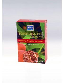 YOKO-464 Pomegranate (Pomegranate picture on the box) SOAP 3.33 oz / 100gr