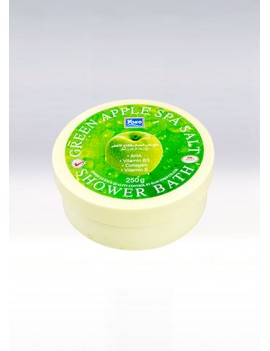 YOKO-490 Green Apple SPA Salt Shower Bath(Jar) 8.33 oz / 250gr
