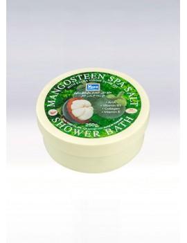 YOKO-491 Mangosteen SPA Salt Shower Bath(Jar) 8.33 oz / 250gr