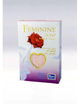 YOKO-438 FEMININE SOAP (RED ROSE EXTRACT) 2.67 oz / 80gr