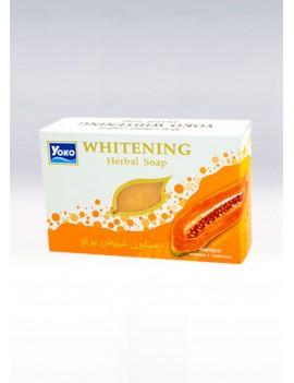 YOKO-059 PAPAYA Soap(White Box) 4.5 oz /135 gr