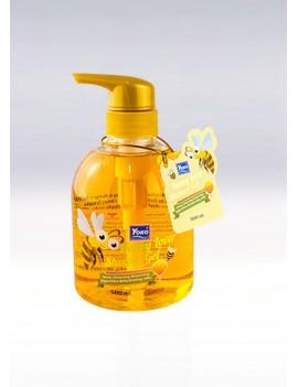 YOKO-591 HONEY LOVER SHOWER GEL(Round bottle/Pump) 16.7 oz / 500ml