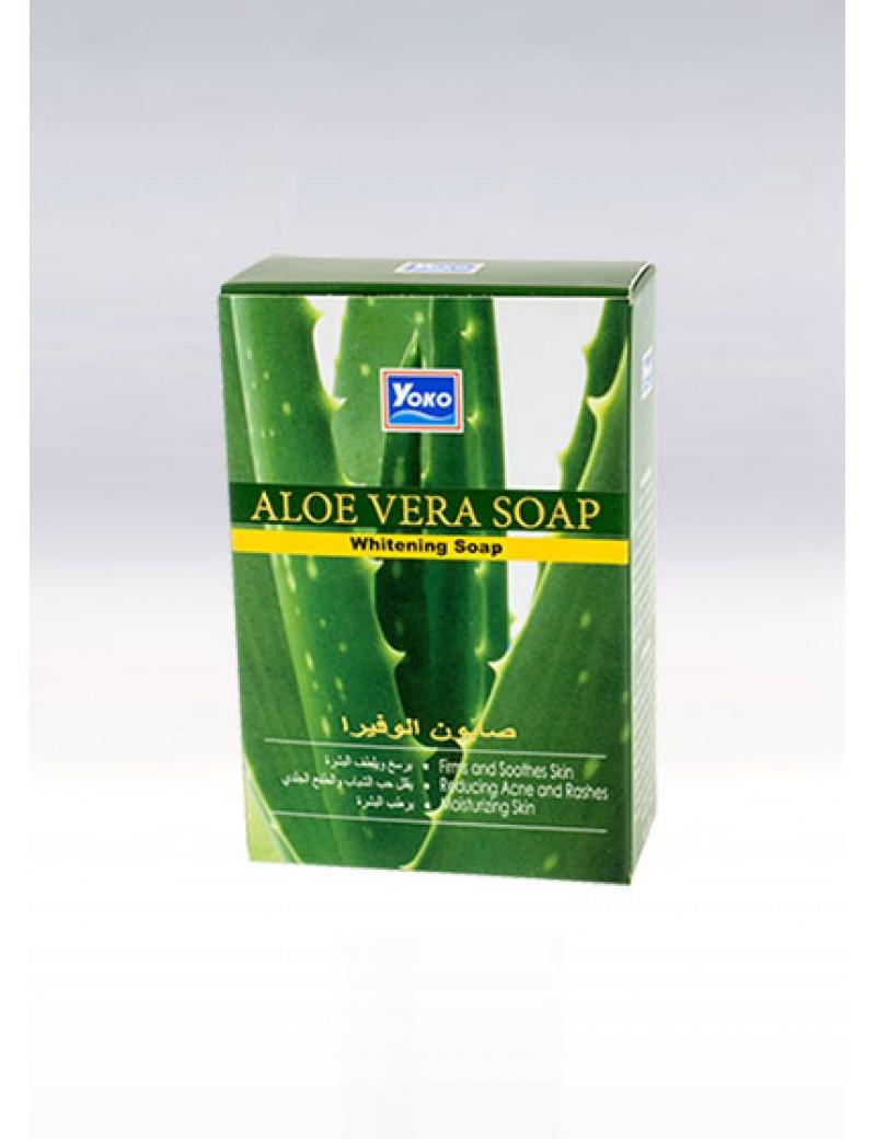YOKO-443 ALOE VERA WHITENING SOAP 3.33 oz / 100gr