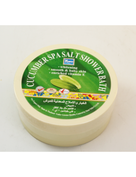 YOKO-403 Cucumber SPA Salt Shower Bath(Jar) 8.33 oz / 250gr