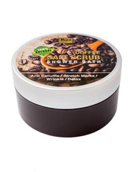 YOKO-619 GOLD COFFEE SALT SCRUB SHOWER BATH (Jar) 8 oz / 240 gr