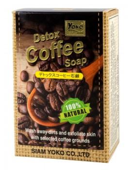 YOKO-639 Coffee Gold Detox Bar Soap 2.67 oz / 80 gr
