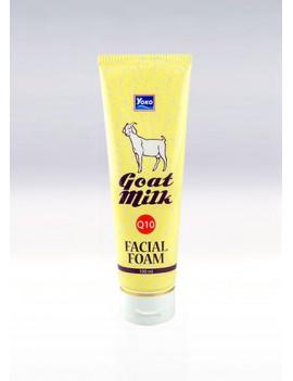 YOKO-555 GOAT MILK Q10 FACIAL FOAM (6pcs Tube) 3.33 oz /100 ml