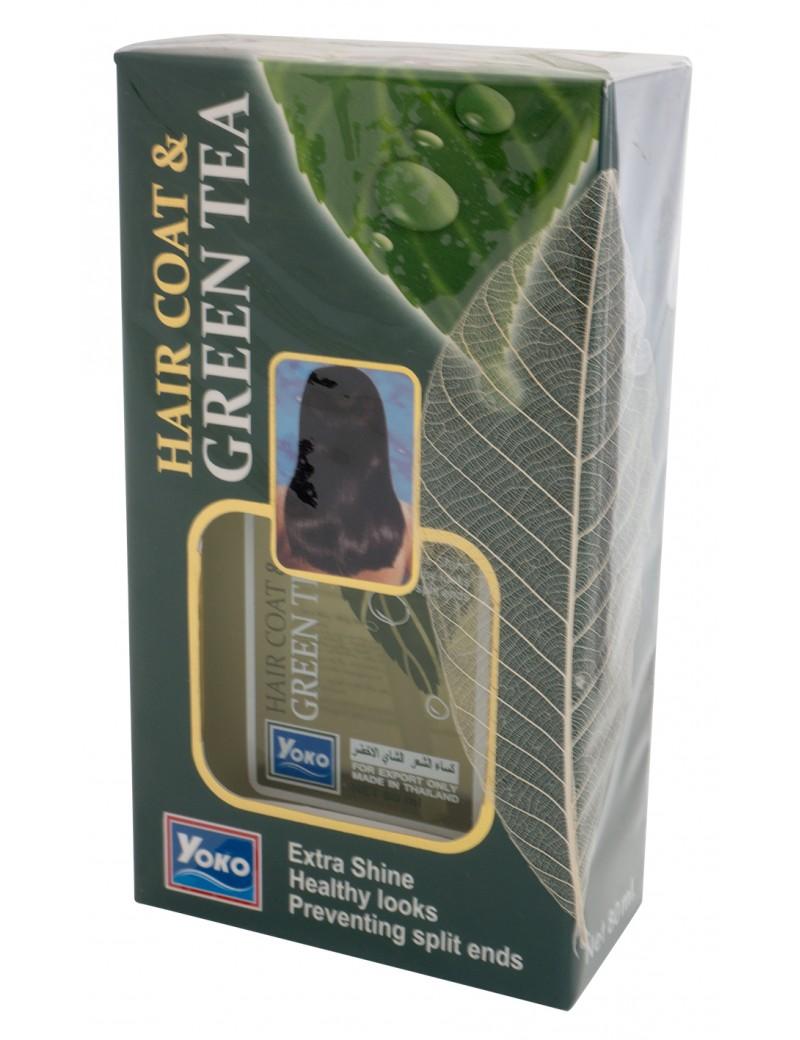 YOKO-085 HAIR COAT & GREEN TEA(D/Green Box)) 2.67 oz / 80ml