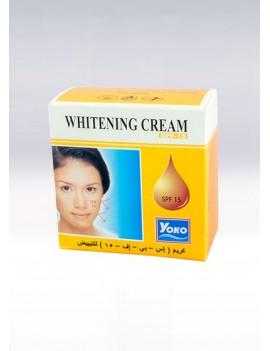 YOKO-414 Whitening Cream with SPF-15 (SPF image on Orange Color) 0.13 oz / 4gr