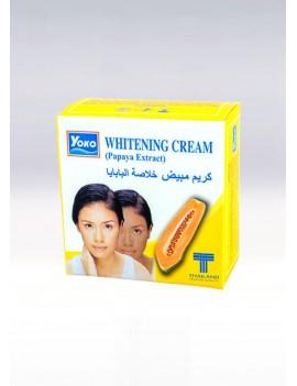 YOKO-439 Whitening Cream with PAPAYA EXTRACT(Papaya image) 0.13 oz / 4gr