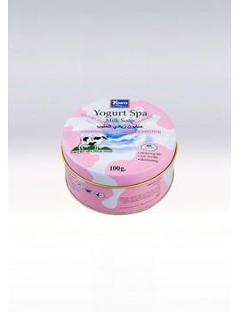 YOKO-457 YOGURT SPA MILK SOAP(In the round can) 3.33 oz / 100gr