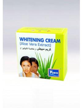 YOKO-435 Aloe Vera Exract Whitening Cream(Jar+Box) 0.13 oz / 4gr